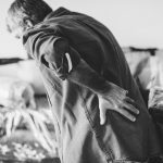 adult back pain, aches, old man