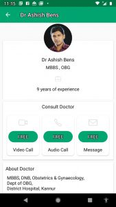 Dr Ashish Gynaecologist on Dofody