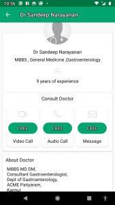 Dr Sandeep gastroenterologist, doctor in dofody